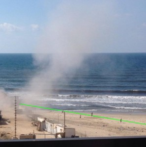 decoys_Gaza_beach_trajectory