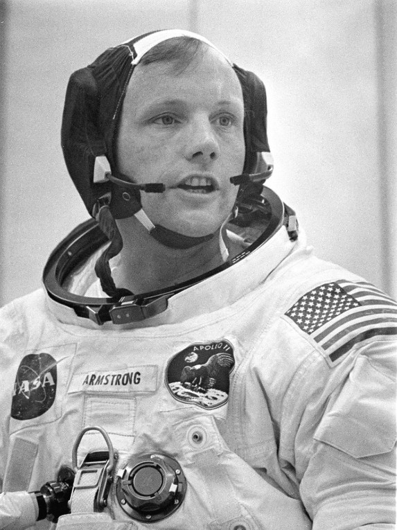 neil armstrong and father - photo #33