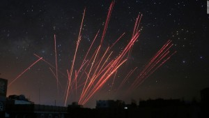 Houithi_antiaircraft_fire