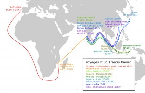 St._Francis_Xavier_travels